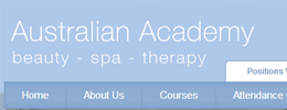The Australian Academy of Beauty and Spa Therapy screenshot