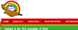 PKU Association of NSW screenshot